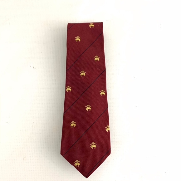 Brooks Brothers Other - Brooks Brothers Red Gold Silk Golden Fleece Symbol